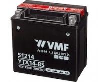 BATERIE MOTO 12V   12AH VMF Powersport MF YTX14-BS - 184 lei