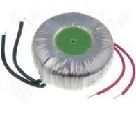Transformator toroidal 100VA; 230VAC; 24V