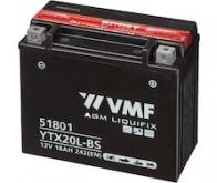 BATERIE MOTO 12V   18AH VMF Powersport MF YTX20L-BS - 245 Lei